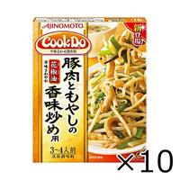 Ajinomoto CookDo Pork & Bean Sprout Flavor Stir-Fry, 100g x 10