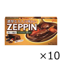 Glico Curry ZEPPIN, Mild For Adults, 175g x 10