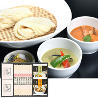 Sato Yosuke Shoten Inaniwa Udon Tsuyu & 2-Type Curry Assortment