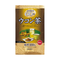 Value Pack Turmeric Tea, 60 Packets (1.5g x 20 Packets x 3 Bags)