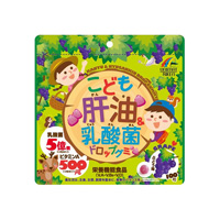 Children's Liver Oil Lactic Acid Bacteria Drop Gummy, 100 Tablets