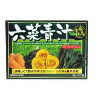 6 Vegetable Aojiru, 3g x 25 Bags
