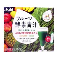Asahi Fruit Enzyme Aojiru, Fruit Mix Flavor, 3g x 30 Bags