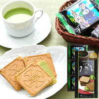 長崎銘菓 クルス抹茶 12枚入