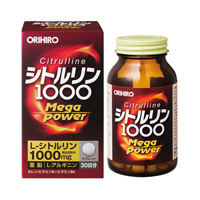 ORIHIRO Citrulline MegaPower1000 (240 tablets)