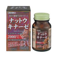 ORIHIRO Nattokinase Capsules 60 tablets