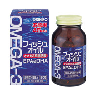 ORIHIRO Fish Oil 180 tablets