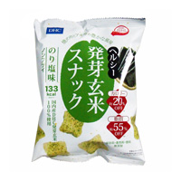 DHC Germinated brown rice snack Nori salty 30g
