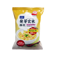 DHC Germinated brown rice porridge (collagen, agar) chicken egg flavor 1 serving