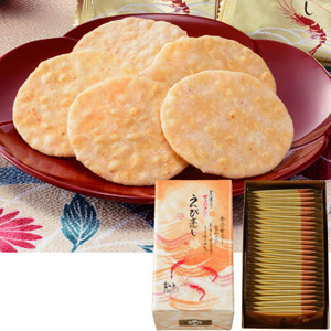 Sweet Shrimp Senbei Ebikoishi (Box Included)