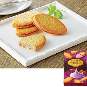 杏仁巧克力夹心饼干 红薯 (8个装)