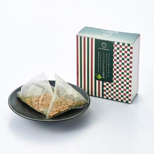 精緻盒裝 越光米混玄米茶 茶包