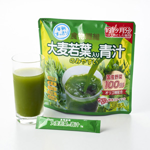 Green Juice With Green Barley