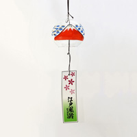 Edo Wind Chime, Red Fuji