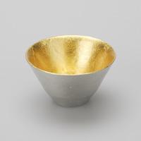 ぐい呑み盃 - 喜器(きき) 金箔
