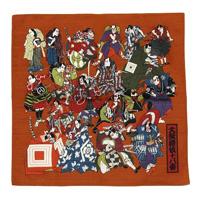 [歌舞伎座オリジナル] 歌舞伎十八番シャンタンチーフ 小 茶