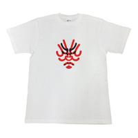 [歌舞伎座オリジナル] くまどり屋一門Tシャツ 白 LL
