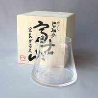 Edo Glass, Mt. Fuji Hoei Glass  (Clear)