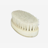 Small Body Brush / Soft White Horse Mane Hair [Uno Hake Brush Factory]