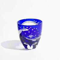 北斎BLUE (江戸切子グラス)