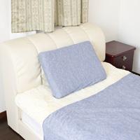 冷感虫よけ枕カバー ブルー