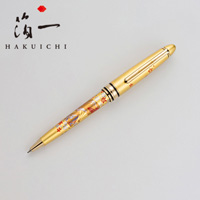 Hakuichi Fan Face, Gold, Ballpoint Pen