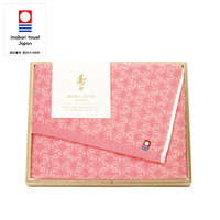 [Juju] Ehime Imabari Bath Towel, w/Wooden Box