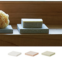 珪藻土 SOAP DISH for bath square