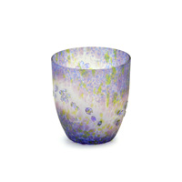 Cherry Blossom Carved Glass