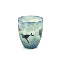 Ocean Romance Carved Glass
