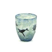 海のロマンカーブグラス