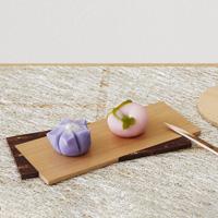 Kabazaiku & Akita Cedar Plate, Slider, Square