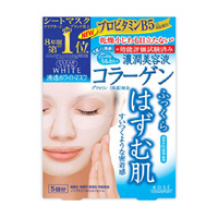 KOSE Clear Turn White Mask, Collagen, 5 Pack
