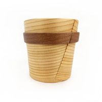 Magewappa Kurikyu Ring Cup (Brown)