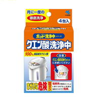 Kobayashi Pharmaceutical Citric Acid Cleaner (4 Packs)