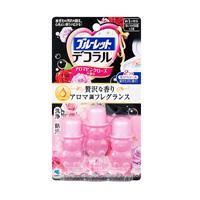 小林製薬  ブルーレット デコラル アロマピンクローズの香り ( 7.5g*3本入 )