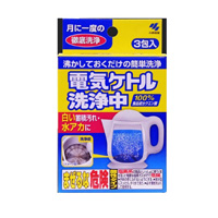 Kobayashi Pharmaceutical Electric Kettle Cleaner (15g x 3)