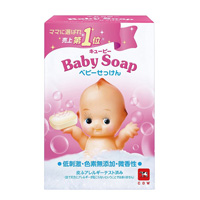 Cow Soap, Kewpie Baby Soap (Solid Type) 90g