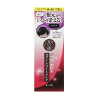 ROHTO Pharmaceutical 50-no-Megumi, Scalp-Caring Color Treatment For Gray Hair, Black 150g