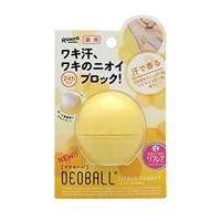 ROHTO Pharmaceutical Deoball, Citrus Sorbet Fragrance, 15g