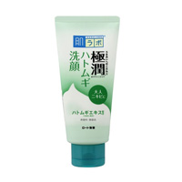 ROHTO Pharmaceutical Hadalabo Gokujun Adlay Face Washing Foam, 100g