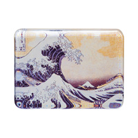 Hokusai Glass Paperweight, The Great Wave off Kanagawa