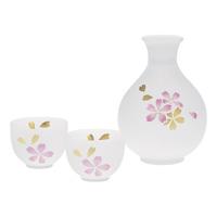 Hime-Kanoko Sake Set, 3 Item Set