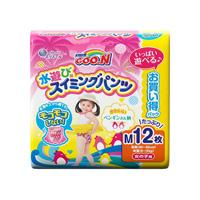 大王製紙 グーン スイミングパンツ Mサイズ12枚(女の子用)
