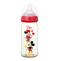 Pigeon Breastfeeding Baby Bottle Plastic Mickey Design 240mL