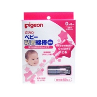 Pigeon Baby Adhesive Cotton Swab (Thin Type) 50 Units