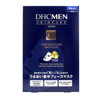 DHC MEN Deep Moisture Face Mask 4 Units