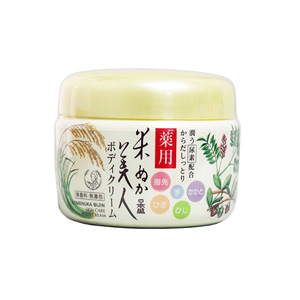 Nihonsakari Komenuka Bijin Medicinal Body Cream 140 g