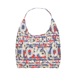 Robin Ruth Botanical City Bag 手提肩包 (TOKYO) 藍色