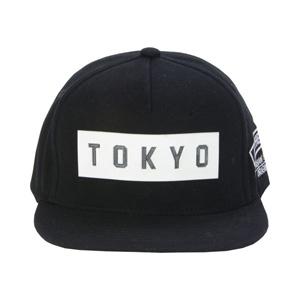 Robin Ruth CAP 鴨舌帽 Rubber Logo (TOKYO) 黑色